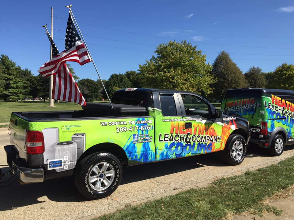 Leach Heating and Cooling- Community involvement